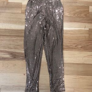 Trina Turk Sequin Trousers